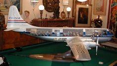 Boeing 377 Stratocruiser cutaway model