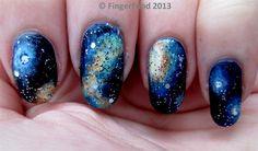 Galaxy by fingerfood - Nail Art Gallery nailartgallery.nailsmag.com by Nails Magazine www.nailsmag.com #nailart