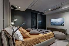 Apartment in Oceana by YØDEZEEN Architects - MyHouseIdea Interior Architecture, Interior Design, Condominium, Small Spaces, House Plans, Bedroom, Home Decor, Decoration, Home