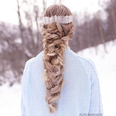 Bohemian winter braid, inspired by @braidbyc ❄️
