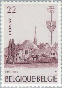 Stamp: Chimay (Belgium) (Abbeys) Mi:BE 2199,Sn:BE 1179,Yt:BE 2147,Bel:BE 2147