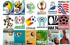 Afiches del mundial de futbol