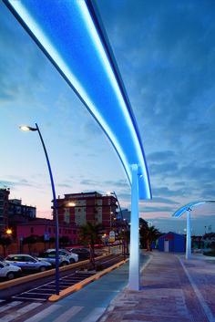 Civitanova, Italy. Ing. Michele Cruciani - Architect: Paolo Cruciani - Lighting…