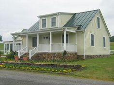 house colors with green metal roof for the home pinterest