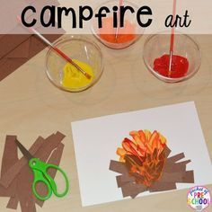 Camping Centers and Activities - Pocket of Preschool
