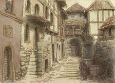 Medieval town 3 by Hetman80.deviantart.com on @DeviantArt