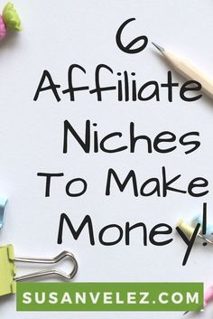 """""""Are you considering starting an affiliate website and not sure how to find a profitable niche? Today, we are going to be looking at 6 affiliate marketing niches and profitable products you can…"""" Free Coupons By Mail, Way To Make Money, How To Make, Affiliate Marketing, Marketing Articles, Marketing Strategies, Making Extra Cash, Finance Blog, Earn Money Online"""