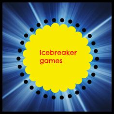 Transforming Children into Spiritual Champions: Ice breaker games