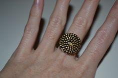 Ring aus Reißverschluss