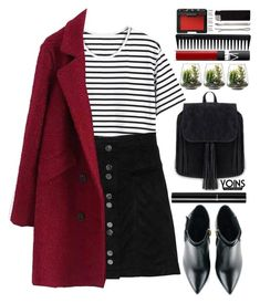"""Yoins #2"" by blueberrylexie ❤ liked on Polyvore featuring Kim Kwang, Chanel, NARS Cosmetics, Threshold, GHD, Maison Margiela, Madewell, women's clothing, women's fashion and women"