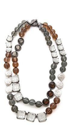 Marc by Marc Jacobs Paste & Prints Double Necklace