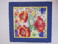MPQ Crocus Quilt Retreat April 2013 Class is Fractured Pictures. This one made by Pearl Braun Dyck