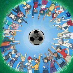 Inazuma Eleven- the captains of the first generation Film Anime, Manga Anime, Super 11, Inazuma Eleven Axel, Evans, Epic Art, Fire Emblem, Chibi, Seasons