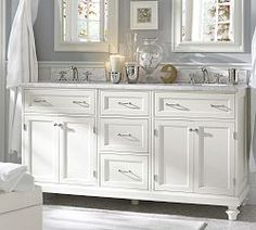 Double Sink Vanities & Double Sink Bathroom Vanities | Pottery Barn