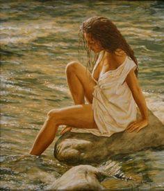 Sergio Martinez Cifuentes (1966 - Chilean figurative artist))