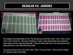 The difference between Jamberry Juniors and the Regual size Jamberry wraps http://www.monicakulenovic.jamberrynails.net/