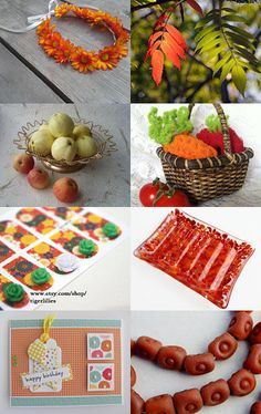 Fall Flavours by Ruth on Etsy--Pinned with TreasuryPin.com