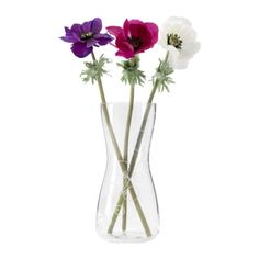 Make your flowers the center of attention with the BLOMSTER vase.
