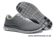 premium selection 38f1a cedab Cool Grey Dark Grey Nike Free 4.0 V2 511472-002 Mens Outlet Grey Shoes,