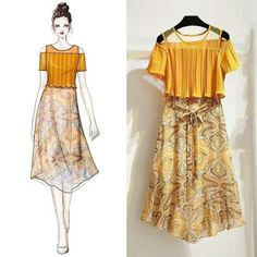 Ideas vintage girl drawing sketches fashion illustrations for 2019 Ideen Vintage Girl Zeichn Look Fashion, Korean Fashion, Fashion Models, Girl Fashion, Fashion Trends, Fashion Design Drawings, Fashion Sketches, Fashion Illustrations, Fashion Drawing Dresses