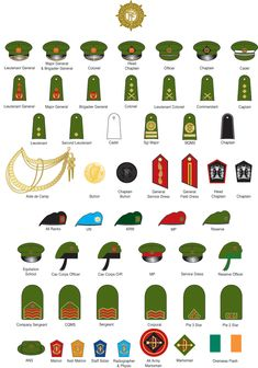 This is the military insignia of the Irish Army