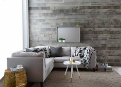 TIMBERWALL XL Barnwood collection (Driftwood Grey)