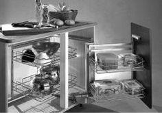 Blind Corner 4 Basket Pantry Set