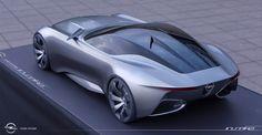 Opel Inspira - Degree project on Behance