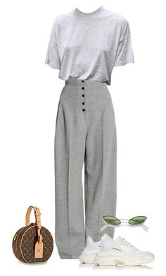 """""""Untitled #754"""" by lady99inred ❤ liked on Polyvore featuring STELLA McCARTNEY, Balenciaga and Acne Studios"""