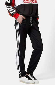 Topshop+for+adidas+Originals+'Superstar'+Track+Pants+available+at+#Nordstrom