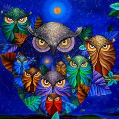 Gorgeous owls!