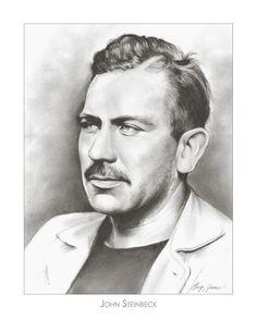 John Steinbeck by Greg Joens on ARTwanted
