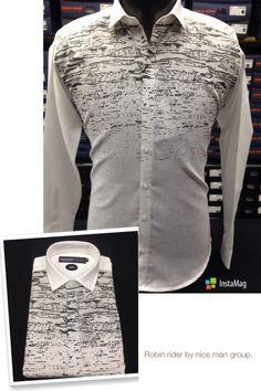 Digital prints on linen fabric