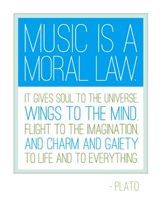 music is a moral law. – plato. #music #quote #words #inspiration