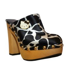 Adelina Clog Black Print now featured on Fab.  Daviluchis se que los quieres!