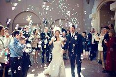 Burbujas y pomperos bodas