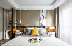 简约风格卧室样板房设计