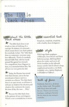 Parisian Chic: A Style Guide by Inès de la Fressange | The Little Black Dress