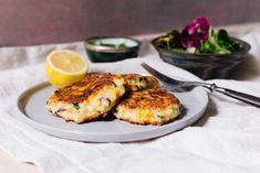 Dip, Salmon Burgers, Camembert Cheese, Dinner, Ethnic Recipes, Food, Cauliflowers, Yogurt, Turmeric