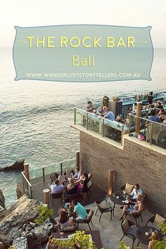 One of the World's 30 Best Hotel Bars: The Rock Bar Bali