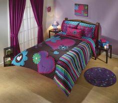 ¡Ideal para este 14 de frebrero! #SanValentin #ValentineDay #Ideas #Corazon #Amor #Love #Decoracion #Sabanas #Edredon #Recamara #Room #Color #DiaDelAmorYLaAmistad #IdeasIntima #Intima #IntimaHogar Tropical Bedroom Decor, Tropical Bedrooms, Teen Bedroom, Dream Bedroom, Hello Kitty Bed, Girl Bedroom Designs, Bed Covers, Bed Spreads, Bed Sheets