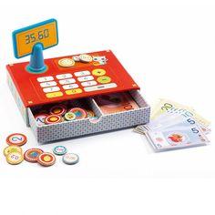 Caja registradora con dinero - Djeco