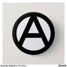 Tree Of Life Evolution, Anarchy Symbol, Volkswagen Logo, Make Design, Custom Buttons, Keep It Cleaner, Symbols, Unisex, Blue