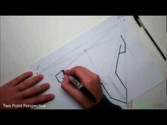 Learn to draw using two point perspective - Part 1