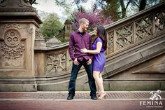 Central Park Engagement Photos- I'm loving good structures to take pictures with