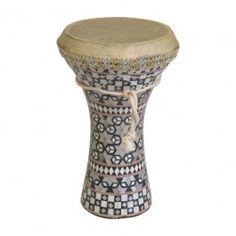 Mosaic Wooden Doumbek, Medium $26.27