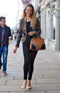Looking good: Petra Nemcova looks incredible as she treats herself to a shopping trip in L...