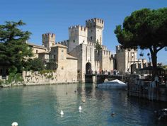 lake garda italy castle - Google Search