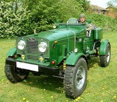 Series Landrover single seater.