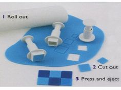 Square Plunger Cutter Set 3 Piece